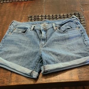 Levi's Denim shorts size 31 excellent condition